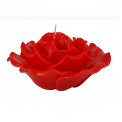Rose Candle - Red