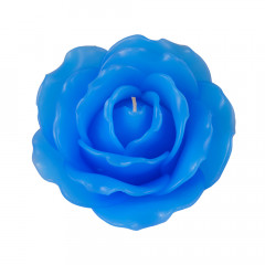 Rose Candle - Blue