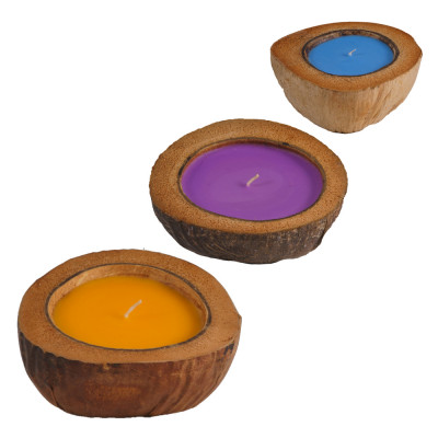 Scented Coconut Candles