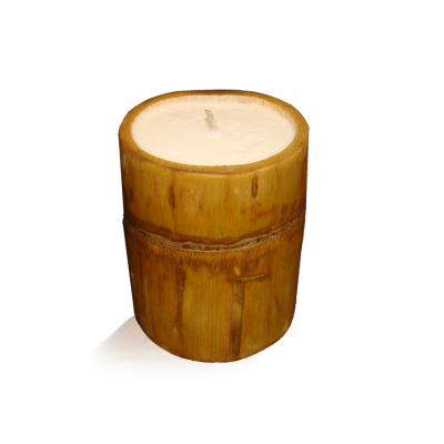 Scented Soy Bamboo Candles