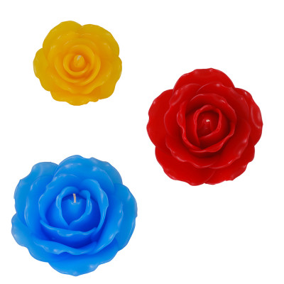 Scented Rose Candles 11cm